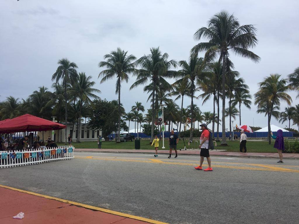 A un día del Super Bowl, el clima no es el mejor en Miami Sergio Melendez