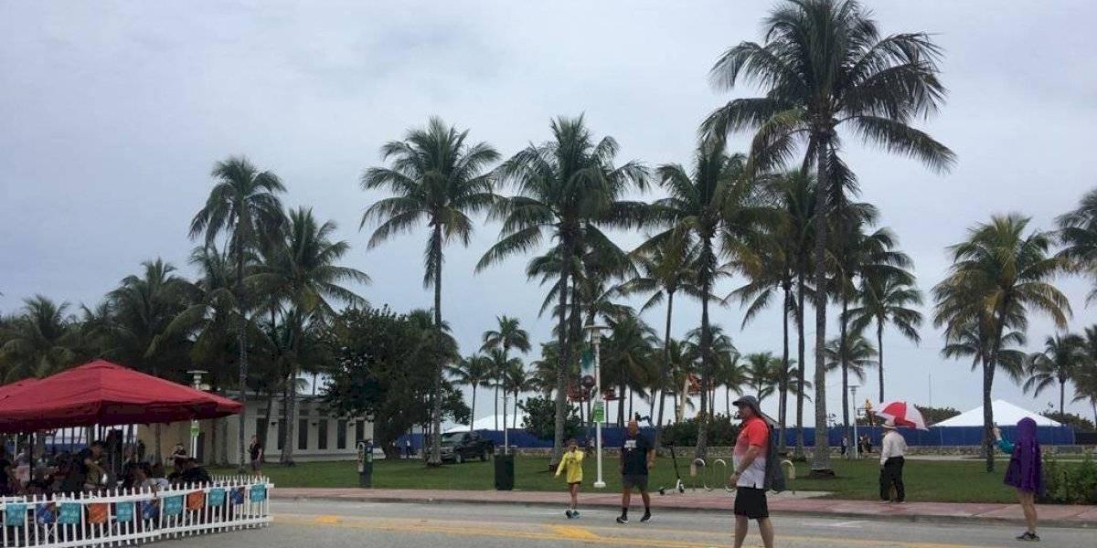 Impera clima nublado y lluvioso en Miami, sede del Super Bowl