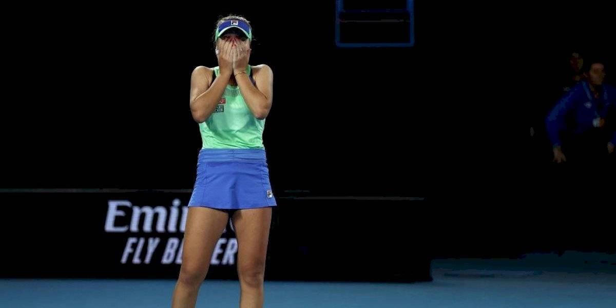 Sofia Kenin se consagra en Australia y es la estadounidense más joven en ganar un Grand Slam desde Serena Williams