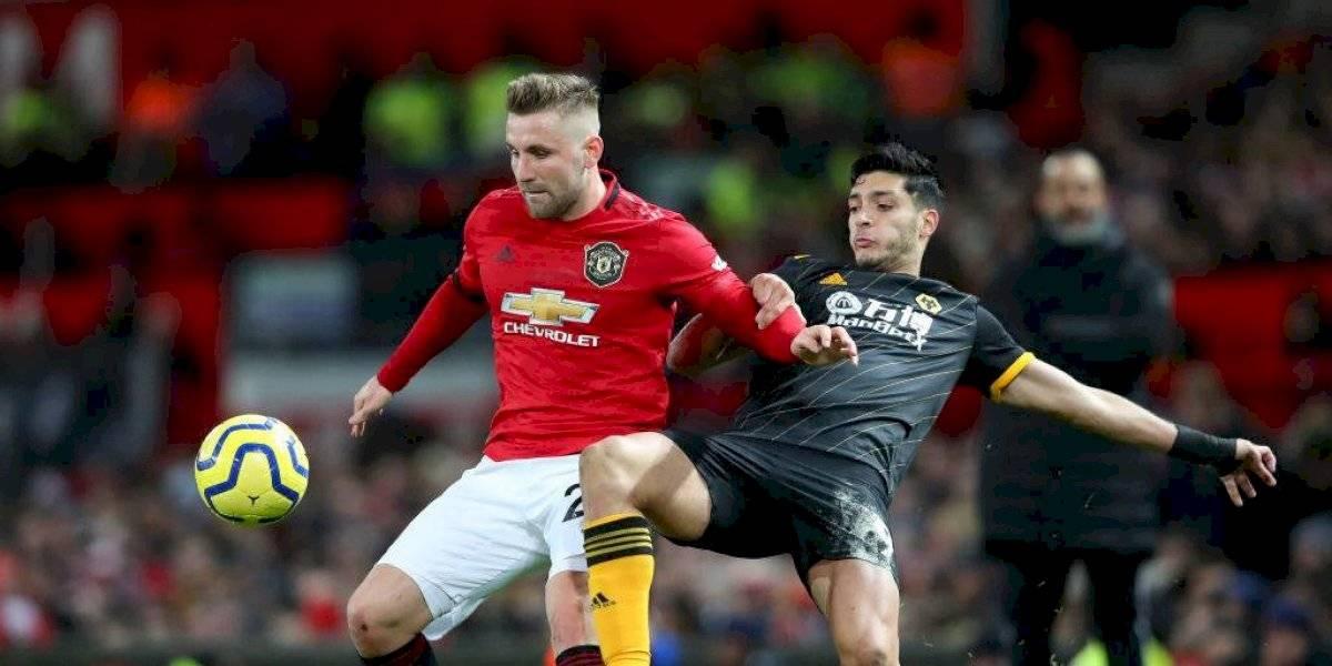 Manchester United rescata empate ante el Wolverhampton de Jiménez