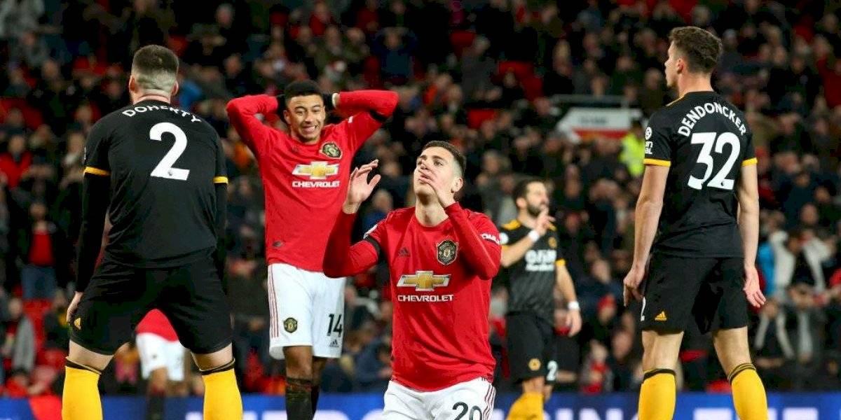 ¿Necesitan a Alexis? Manchester United no levanta cabeza y solo consigue un empate ante Wolves por la Premier League