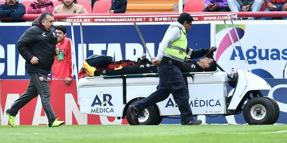 VIDEO: Hugo González sufre escalofriante lesión durante partido