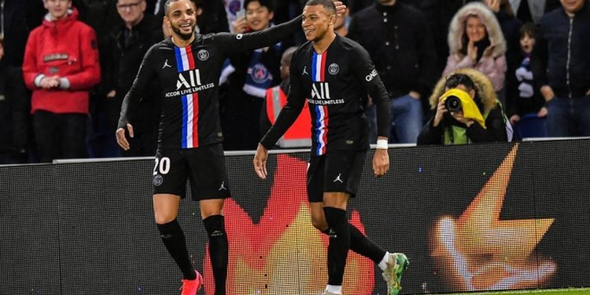 Ligue 1: Kylian Mbappé salió enojado de la goleada del PSG 5-0 ante Montpellier