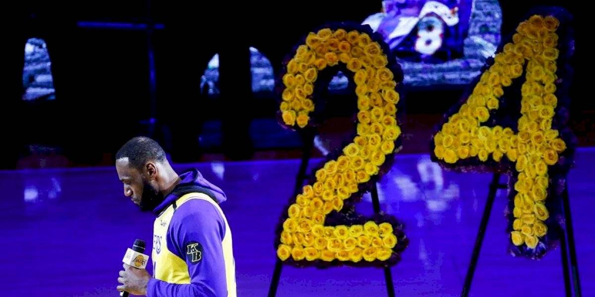 VIDEO: El emotivo homenaje de los Lakers a Kobe Bryant en el Staples Center