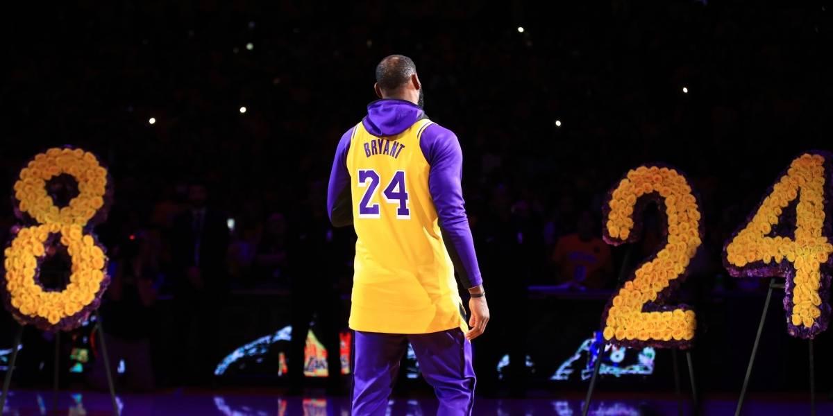 VIDEO. El Staples Center vive una noche de lágrimas en recuerdo de Kobe Bryant