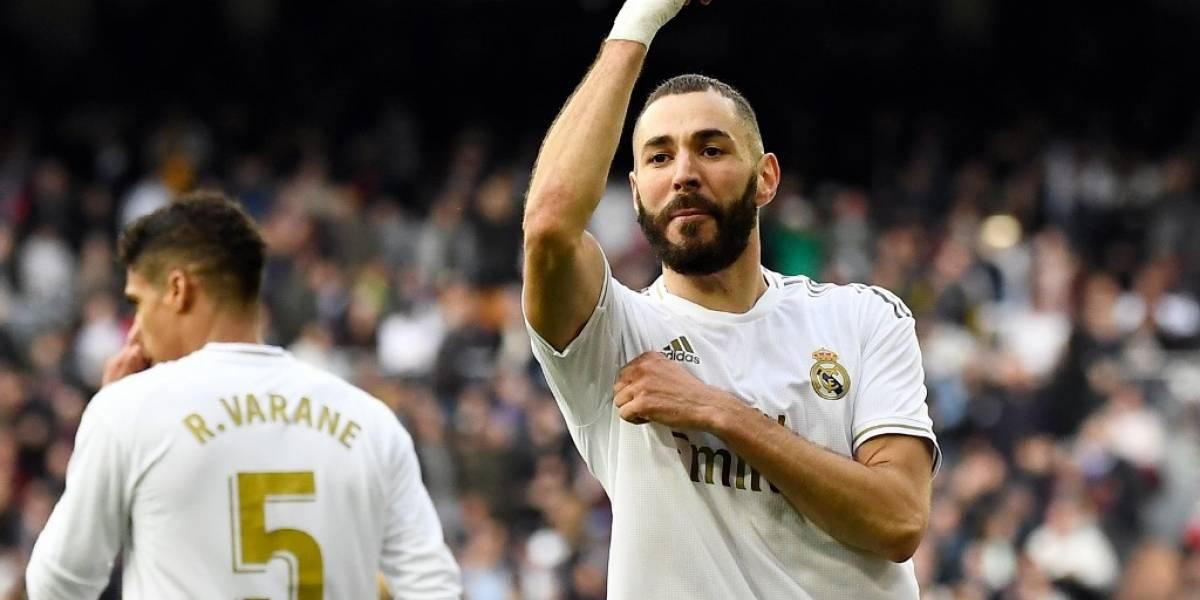 Real Madrid se impone ante Atlético con un gol de Karim Benzema