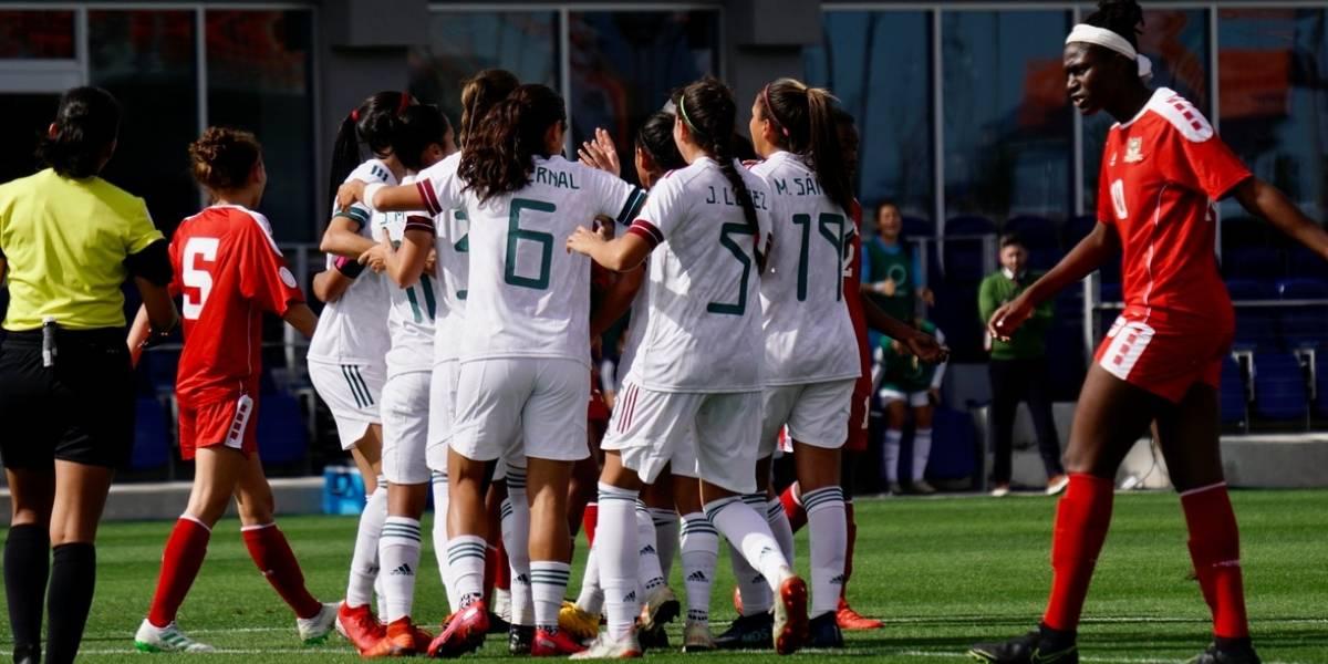 El Tricolor femenil golea y avanza a semifinales del preolímpico