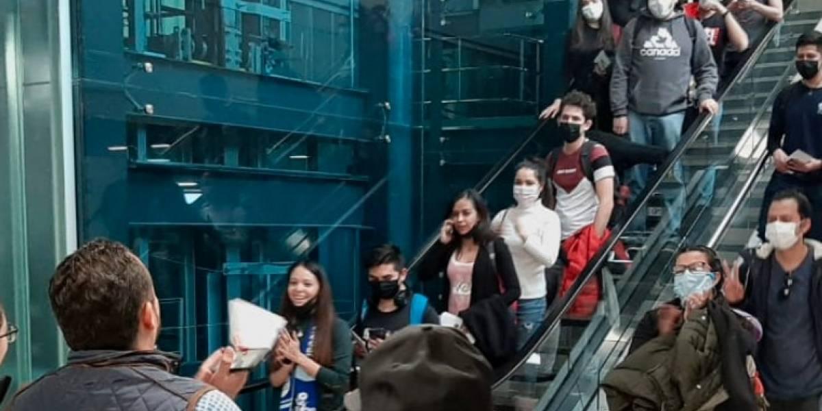 Llegan estudiantes de Guanajuato provenientes de China