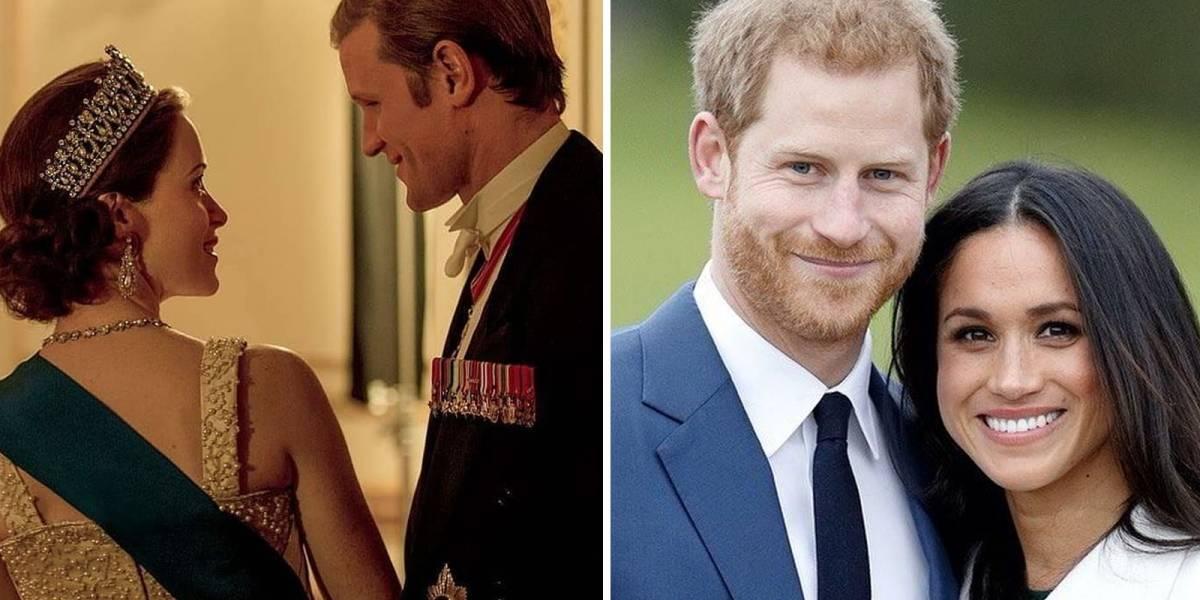 La serie The Crown de Netflix no incluirá el conflicto de Meghan y Harry