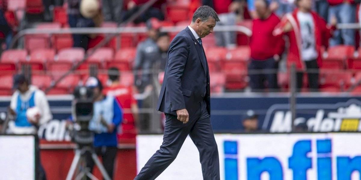 Siboldi respalda a Corona, pese a error ante el Toluca
