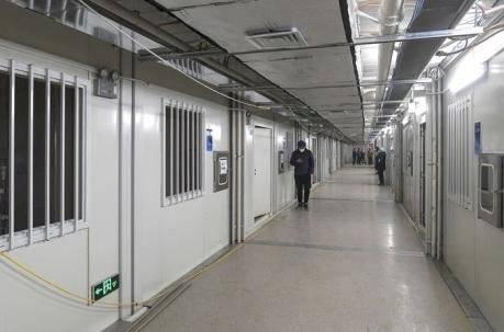 Así es el hospital que China construyó en 10 días para tratar a pacientes con coronavirus AFP
