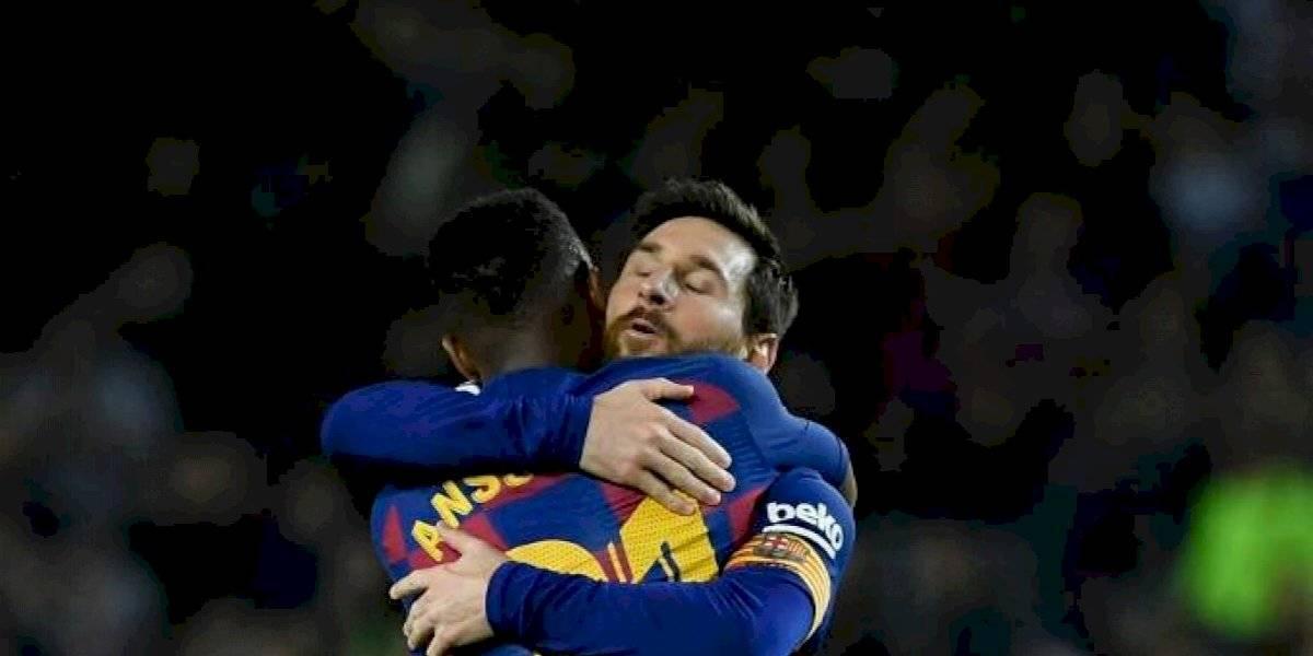 Ansu Fati guía al Barcelona en la victoria sobre el Levante