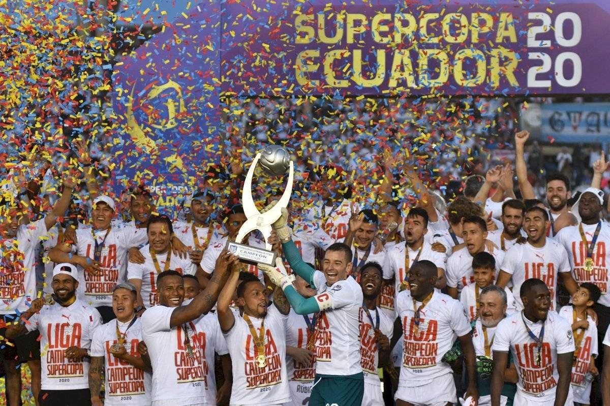 Liga de Quito Supercopa Ecuador API