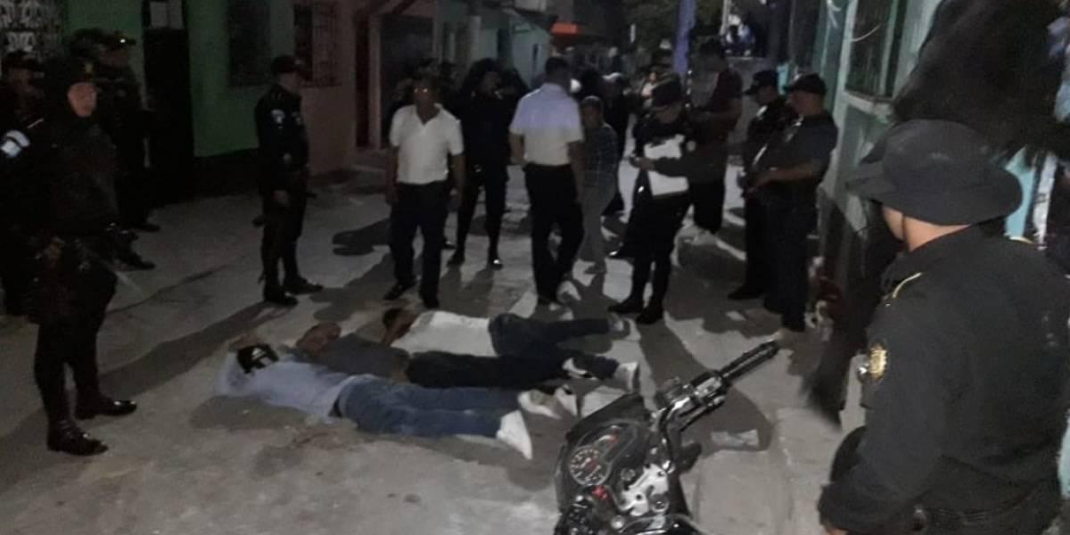 Cuatro capturados por pelea entre supuestos pandilleros en El Búcaro