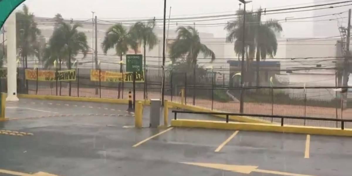 Chuva em São Paulo deixa alagamentos, árvores caídas e um desabamento