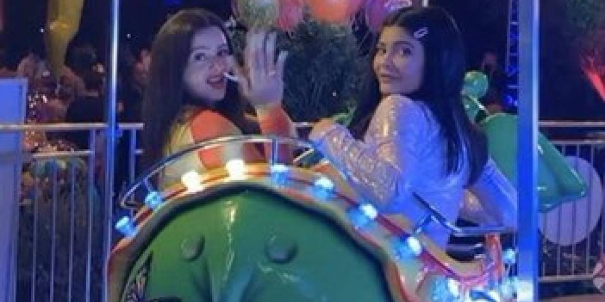 """""""Kylie estuvo más tiempo con Rosalía que con su hija"""": Fans reaccionan a la lujosa fiesta de Stormi"""