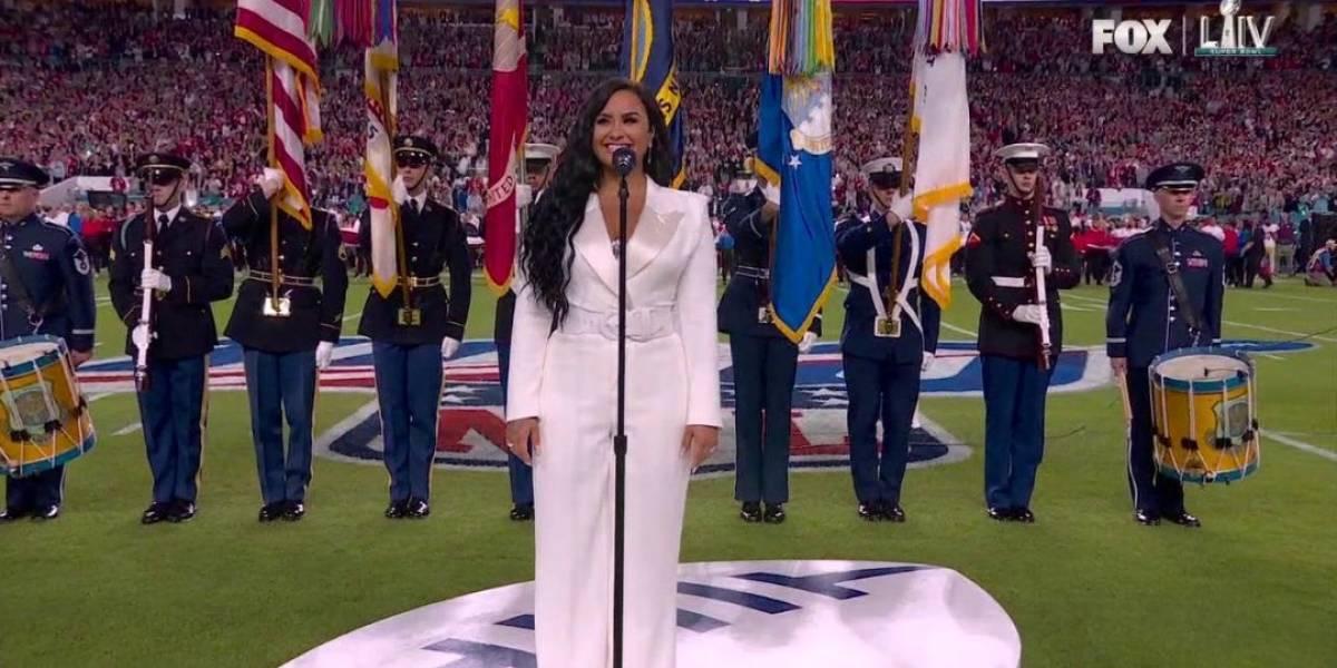 Reacciones tras la actuación de Demi Lovato en el Super Bowl