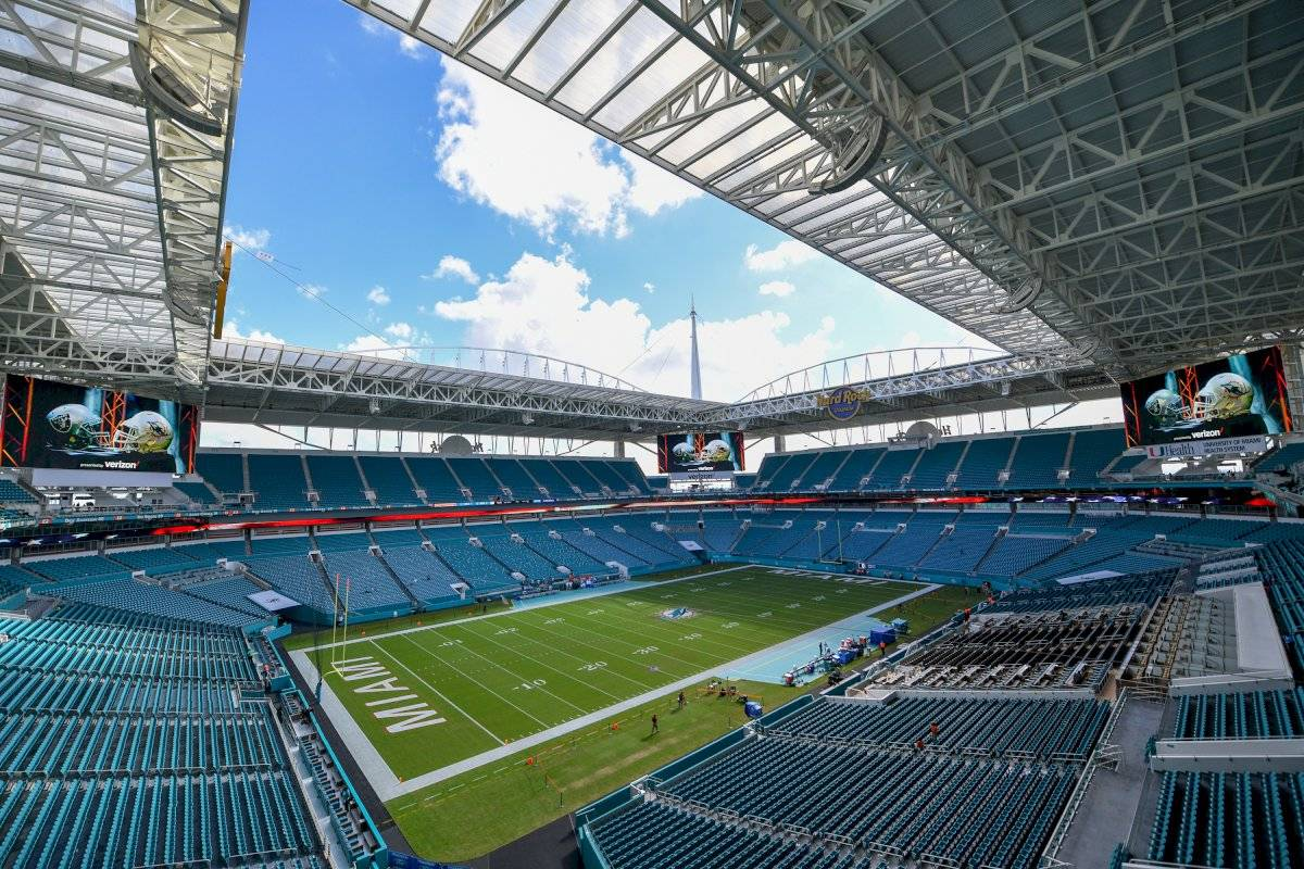 Hard Rock Stadium | Foto tomada: Getty Images.