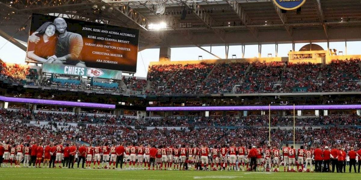 VIDEO: Super Bowl LIV se rinde a la memoria de Kobe Bryant