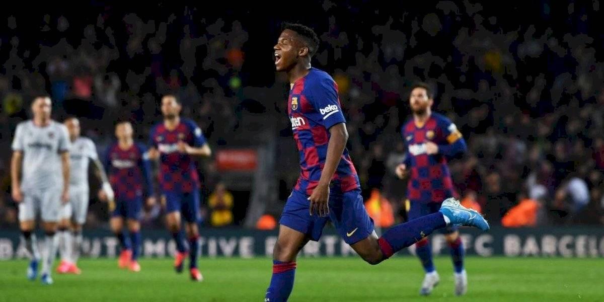 Barcelona no se complica con la ausencia de Arturo Vidal y derrota sin problemas al Levante en la Liga española