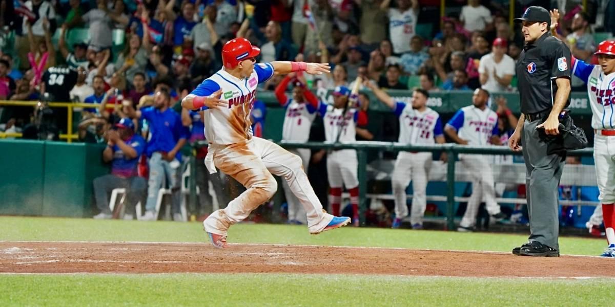 Puerto Rico debuta con triunfo en la Serie del Caribe