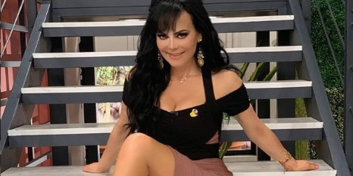 Maribel Guardia se olvida del sostén y presume sus encantos en las redes sociales