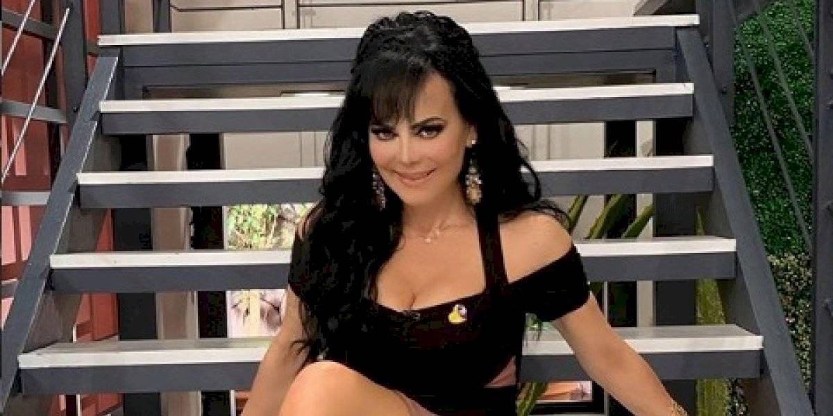 Maribel Guardia presumió su cuerpazo de envidia en un vestido transparente