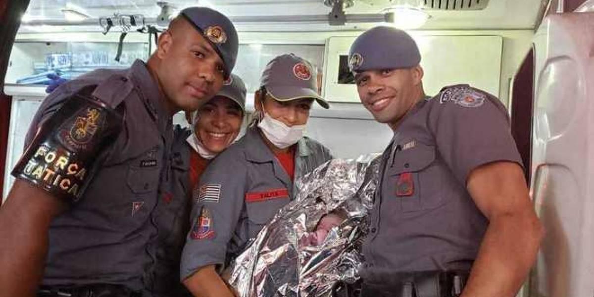 Mulher dá à luz em viatura da PM na zona leste de São Paulo