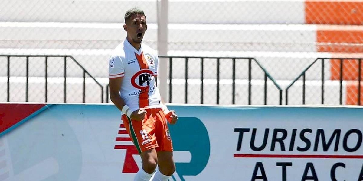 Felipe Reynero fue nuevamente el verdugo de Colo Colo y le dio el triunfo a Cobresal