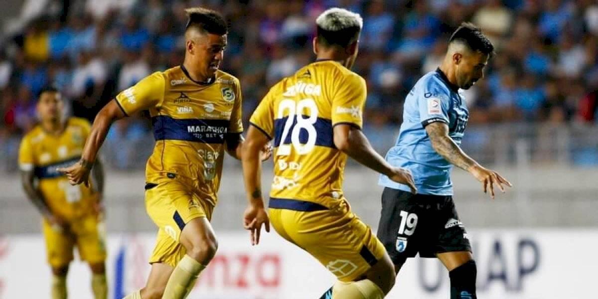 Everton reaccionó sobre el final y le robó un punto a Deportes Iquique en el Norte