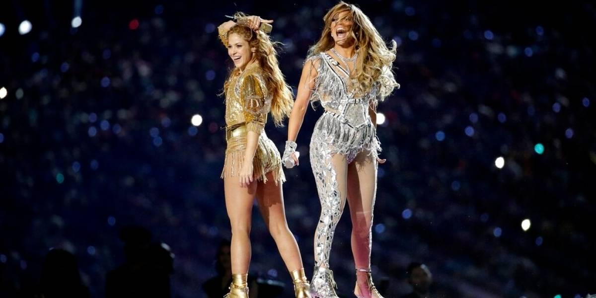 Shakira y Jennifer Lopez impactaron en el medio tiempo del Super Bowl LIV