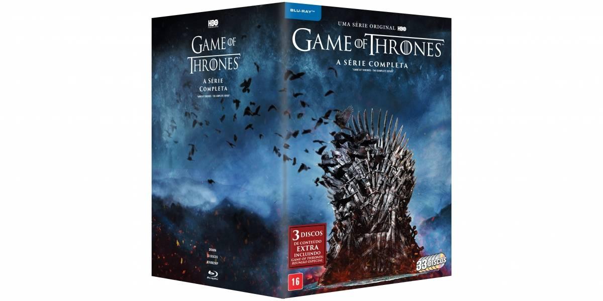 'Game of Thrones': Boxes com 8ª temporada e série completa têm conteúdo exclusivo
