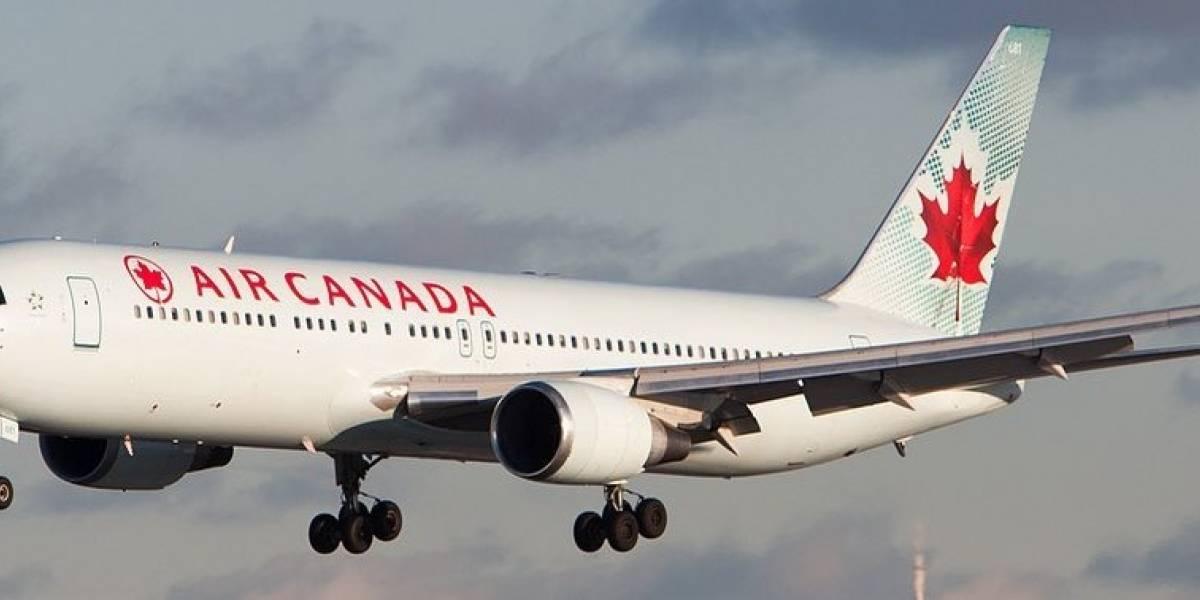 """""""Escuché una explosión debajo de mi asiento"""": 5 horas de angustia vivieron pasajeros de Air Canada"""