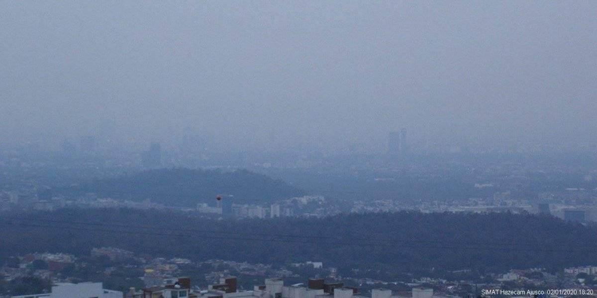 Calidad del aire en la Ciudad de México para este lunes 3 de febrero