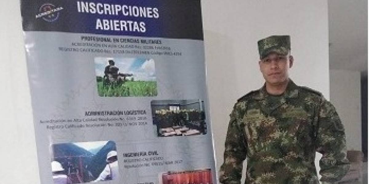 Escuela Militar de Cadetes abre proceso de inscripción para carrera de Oficial de Armas