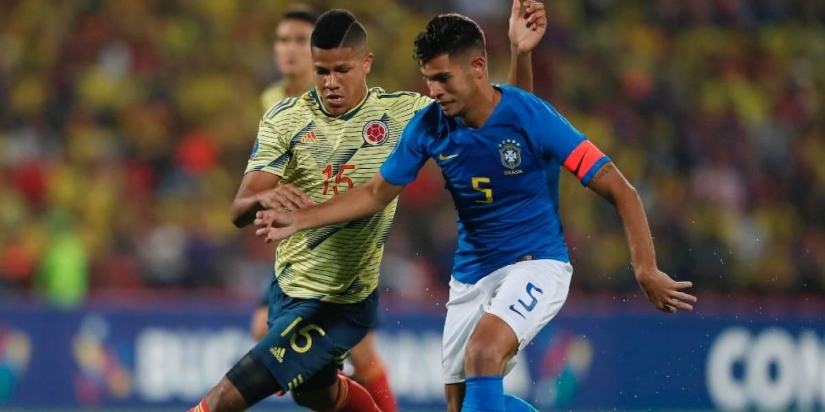 ¡Tokio está más cerca! Colombia frenó a la todopoderosa Brasil en el Preolímpico 2020
