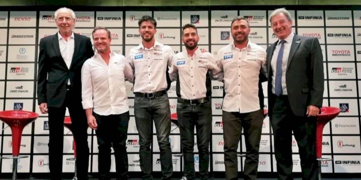 Estos son refuerzos: Barrichello es la incorporación de Toyota Argentina para el STC2000