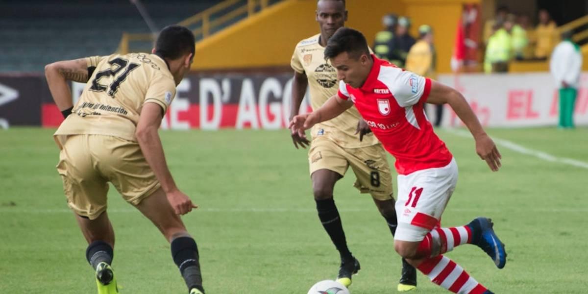 Rionegro Águilas vs. Santa Fe: los leones van por su primera victoria en la Liga BetPlay