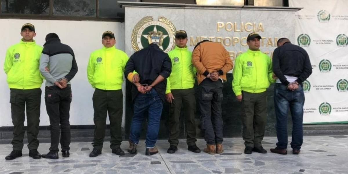 Atrapan cinco peligrosos abusadores de niñas y mujeres en Bogotá