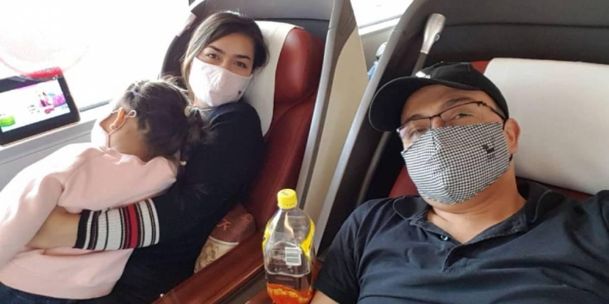 Colombianos que regresaron de China dicen que no los revisaron en El Dorado