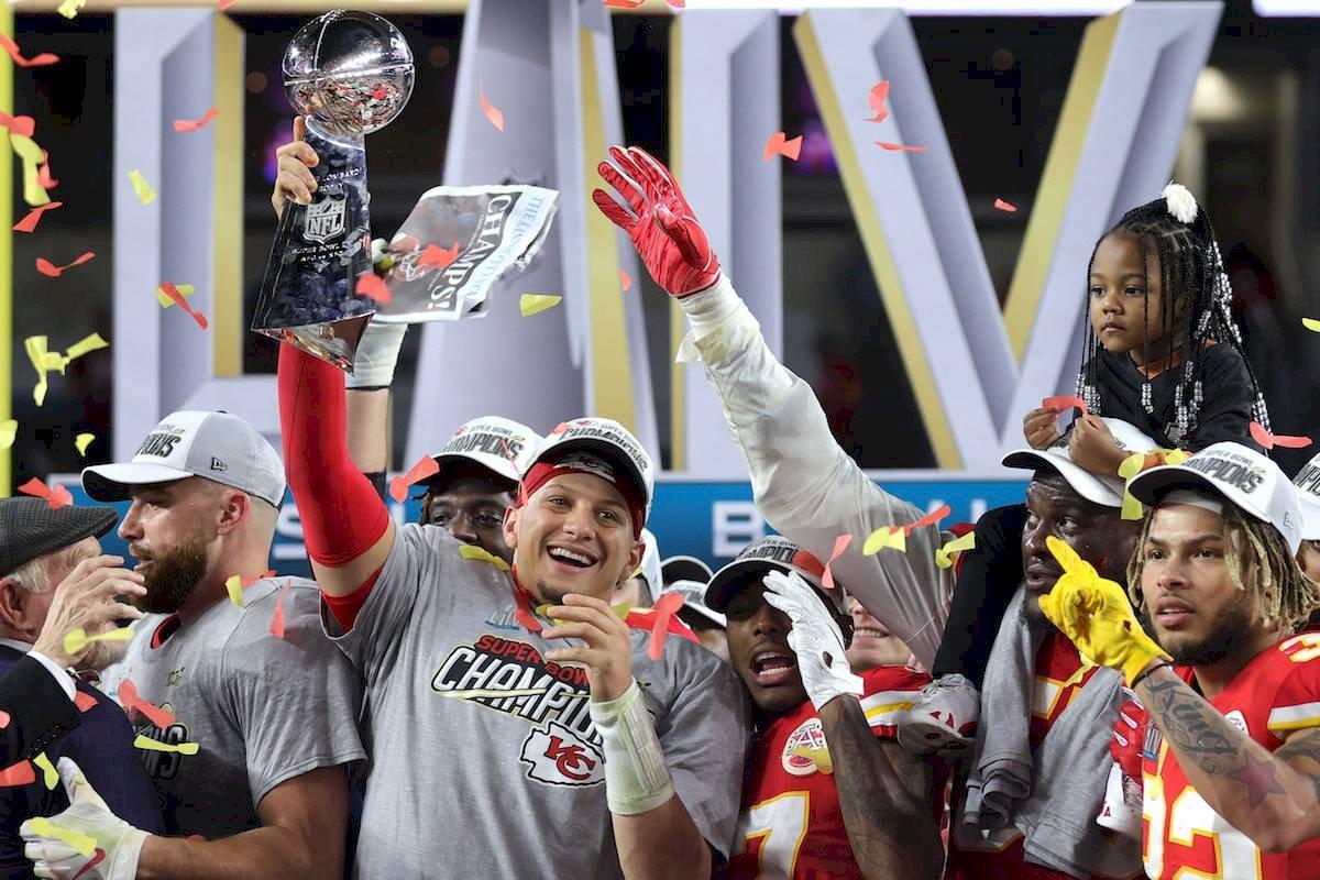 El quarterback fue nombrado MVP del Super Bowl LIV Getty Images
