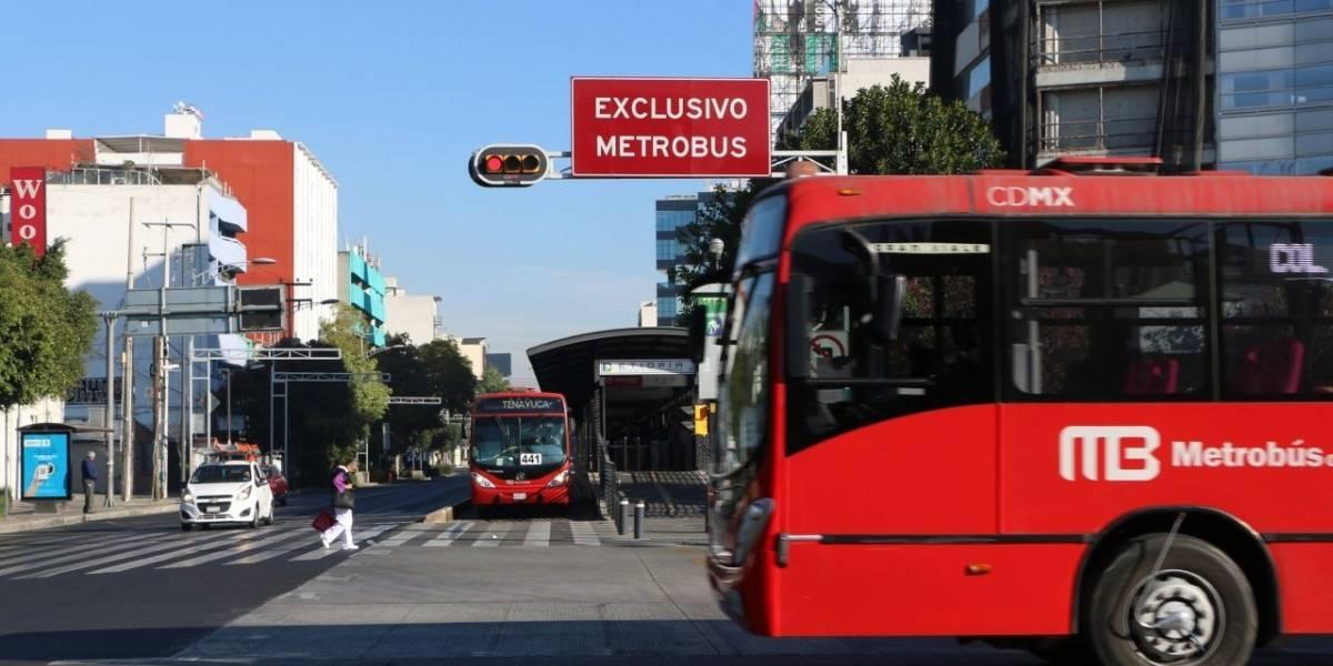 Cinco estaciones del Metrobús permanecerán cerradas por mantenimiento