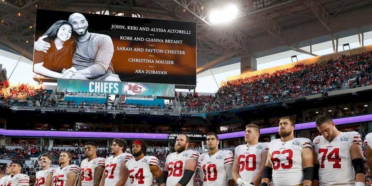 El emotivo homenaje a Kobe Bryant que muchos no vieron durante el Super Bowl LIV