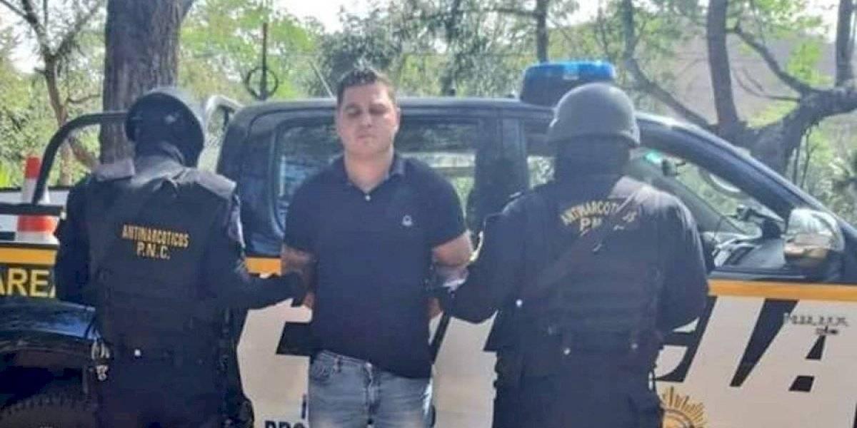 Capturan en Zacapa a guatemalteco extraditable por delitos relacionados con narcotráfico