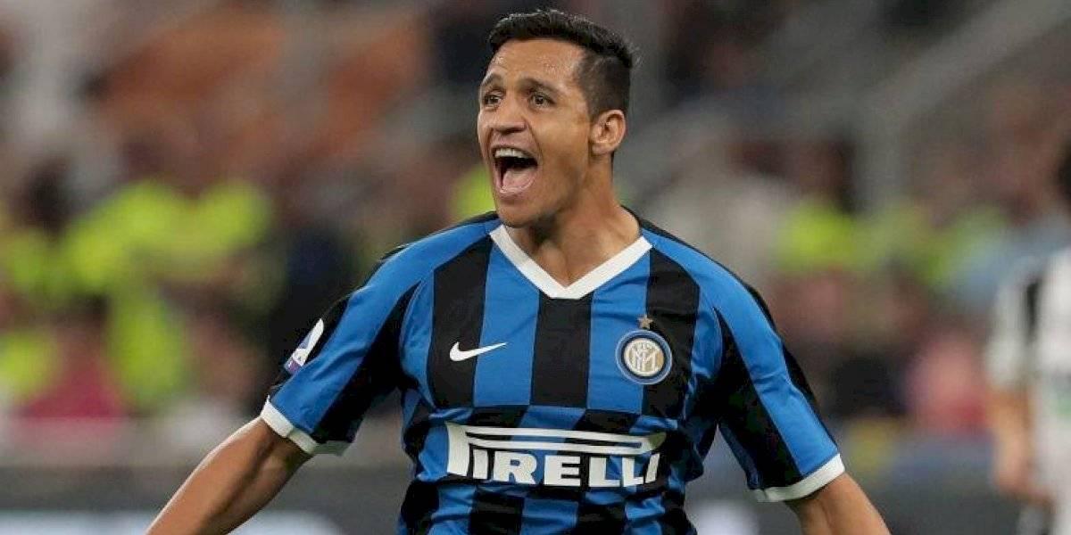 Alexis empieza a ganarse a los hinchas del Inter: fue incluido en el podio de las figuras del partido ante el Udinese