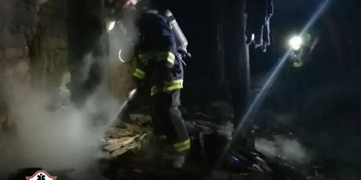 Incendio destruye vivienda en Chichicastenango