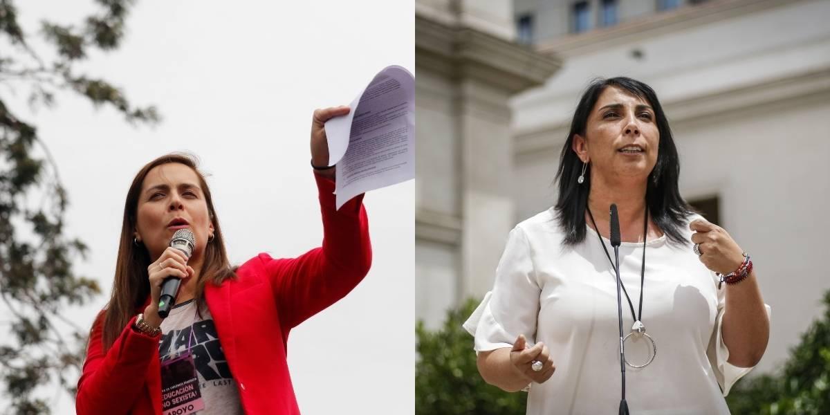 """Natalia Valdebenito en picada contra la vocera de gobierno: """"pon tu mejor cara de cómplice"""""""