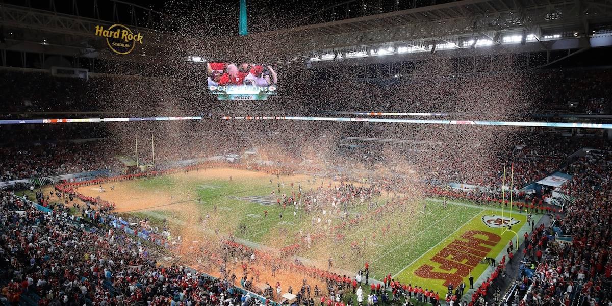 Los momentos más mencionados en Twitter durante el Super Bowl LIV
