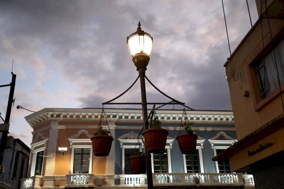 Macetas en el Centro de Quito