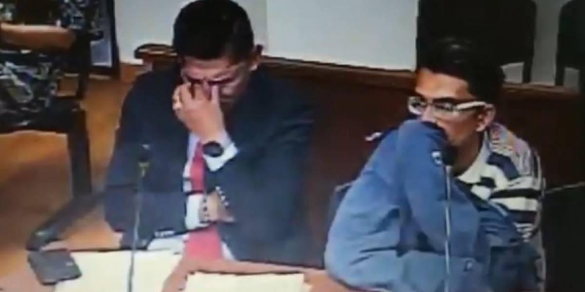 Juez y abogado lloraron por el desgarrador caso de padrastro que mató a un bebé